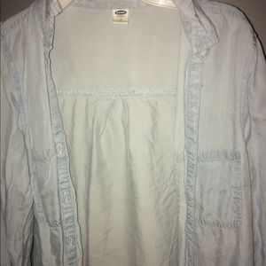 Small Old Navy Light Blue Cardigan/Jacket